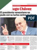 Especial Hugo Chávez. Adiós a un líder