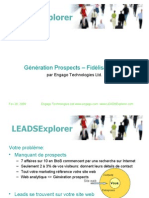 LEADSExplorer Génération Prospects Fidélisation Client