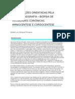 Biopsia de Vilo Corial-Amniocentese-cordocentese Capitulo-livro
