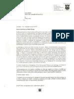 EL dia 5 de Marzo 2013, Le enviamos una carta al Hon. Alejandro García Padilla Gobernador de P.R. En defensa de los beneficios de Retiro de los Policías.