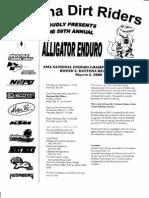 DDR Alligator Enduro App