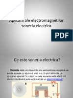 Electromagneti-Aplicatii Soneria Electrica
