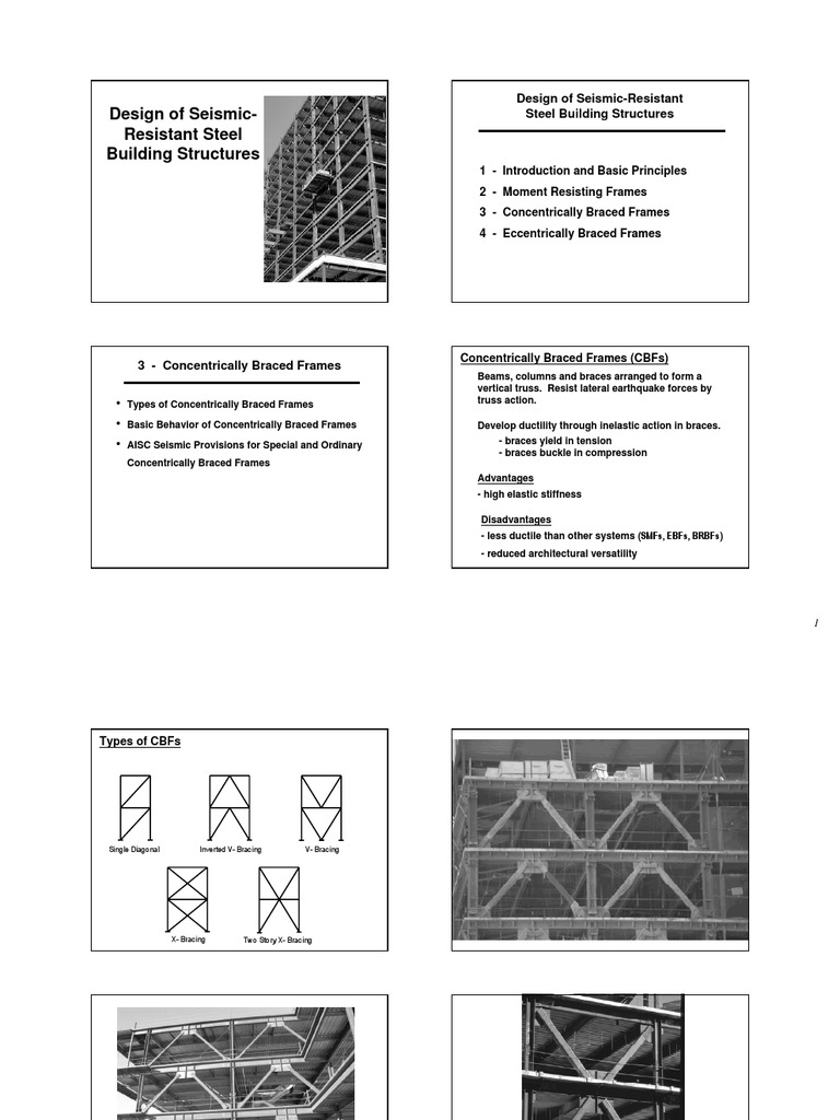 Seismic Concentric Braced Frames | Buckling | Beam (Structure)