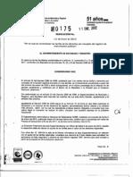 resolucion0175de2012