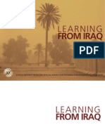 Final report of the Special Inspector General for Iraq Reconstruction