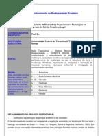Gradiente de diversidade vegetacional e pedológico no Cerrado do Brasil