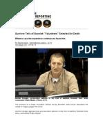 Survivor Tells of Bosniak Volunteers Selected for Death