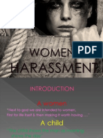 WOMEN HARASSMENT & CHILD LABOUR