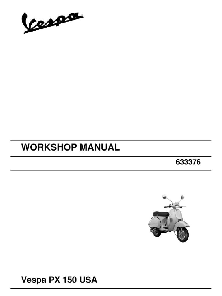 Vespa PX 150 USA | Transmission (Mechanics) | Carburetor