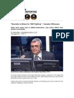 """Bosniaks to Blame for 1992 Fighting"" - Karadzic Witnesses"