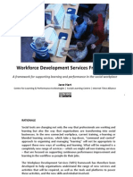Workforce Development Services Framework