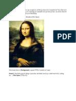 In Acest Tutorial Te Voi Invata Cum Sa Apari in Celebra Pictura a Lui Leonardo Da Vinci Fara Sa Te Intorci in Timp Pe La 1500 Si Sa