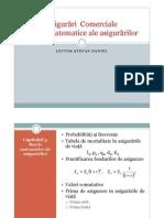 Bazele Matematice Ale Asigurarilor