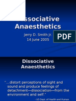 Dissociative Anaesthetics