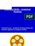 Analytical Thinking Training