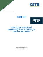 Concilier Efficacite Energetique Et Acoustique Dans Le Batiment