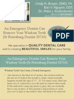 An Emergency Dentist Can Remove Your Wisdom Teeth (St Petersburg Dentist 33710)