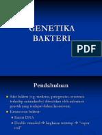 Genetika Bakteri