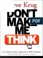 Dont Make Me Think - Fly