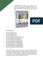 Microsoft Office Excel 2003 es una aplicación para manejar hojas de cálculo Este programa es desarrollado y distribuido por Microsoft y es utilizado normalmente en tareas financieras y contables