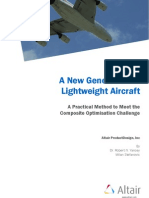 A New Generation of Lightweight Aircraft - A Practical Method to Meet the Composite Optimisation Challenge