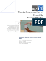 The Anthropometrics of Disability