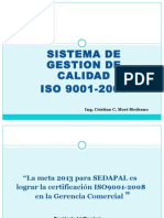 Iso 9001 -Gerencia Comercial -2013-2 (2) Ppt