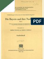 Die Bayern Und Ihre Nachbarn