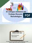 Enfoque sistémico del Trabajo Docente y Metodológico