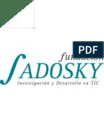 Presentacion institucional de la Fundación Sadosky