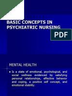 22562038 Basic Concepts in Psychiatric Nursing