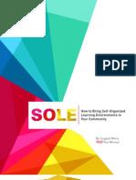Sugata Mitra - SOLE Toolkit