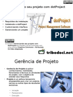 Gerenciando Seu Projeto Com Dotproject