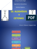 10. Aldehídos y cetonas