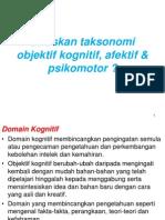 Domain Domain Taksonomi
