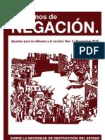 Cuadernos de Negación 4 - Sobre la necesidad de destrucción del Estado