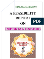 Feasibility Report of Bakery