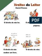 Direitos Do Leitor - Daniel Pennac