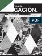 Cuadernos de Negación 7 - Recorrido por el territorio capitalista