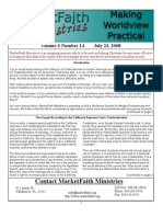 Worldview Made Practical - Issue 3-16