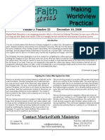 Worldview Made Practical - Issue 3-23