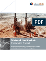 State of the Market Exploration Report Edition 1 2013