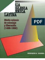 Dussel - Historia de la Iglesia en América Latina