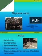 Mi Primer Robot Alvaro Toro