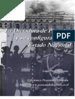 La Dictadura de Pinochet y su Configuración de Estado Nacional.