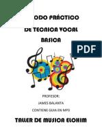 METODO PRÁCTICO DE VOCALIZACION TAPA PRINCIPAL