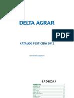Katalog Pesticidi 2012 - Delta Agrar