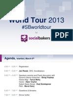 Socialbakers World Tour - İstanbul