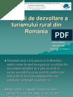 55732638 Strategii de Dezvoltare a Turismului Rural Din Romania 1