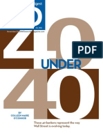 Investment Dealers Digest 40 Under 40